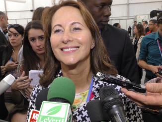 Ségolène Royal, ancienne ministre de l'Ecologie et présidente de la COP21