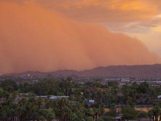 Les tempêtes de sable et de poussière
