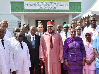 Centre Mohammed VI de formation en médecine d'urgence du CHU de Yopougan à Abidjan
