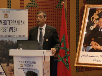 Dr. Abdeladim LHAFI, a présidé le lundi 20 mars 2017 la cérémonie d'ouverture de la 5ème édition de la Semaine Forestière Méditerranéenne