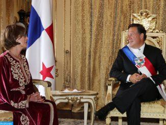 l'ambassadeur du Maroc au Panama, Mme Oumama Aouad