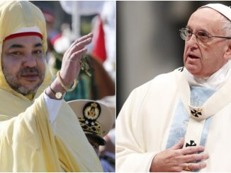 Le roi Mohammed VI, a adressé un message de félicitations à sa sainteté le pape François