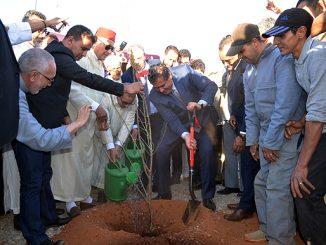 Le ministre de l'agriculture et de la pêche maritime, Aziz Akhannouch
