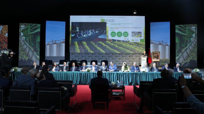 Une convention pour le développement et l'adaptation de l'irrigation aux changements climatiques