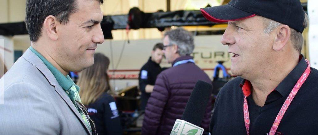 Richard BORFIGA, administrateur délégué de l'écurie monégasque Venturi automobiles.