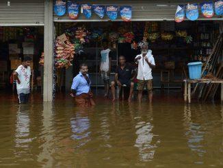 Les moussons au Sri Lanka
