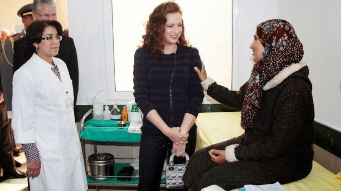 La princesse lalla salma re oit la m daille d 39 or de l oms for 6 bureaux regionaux de l oms