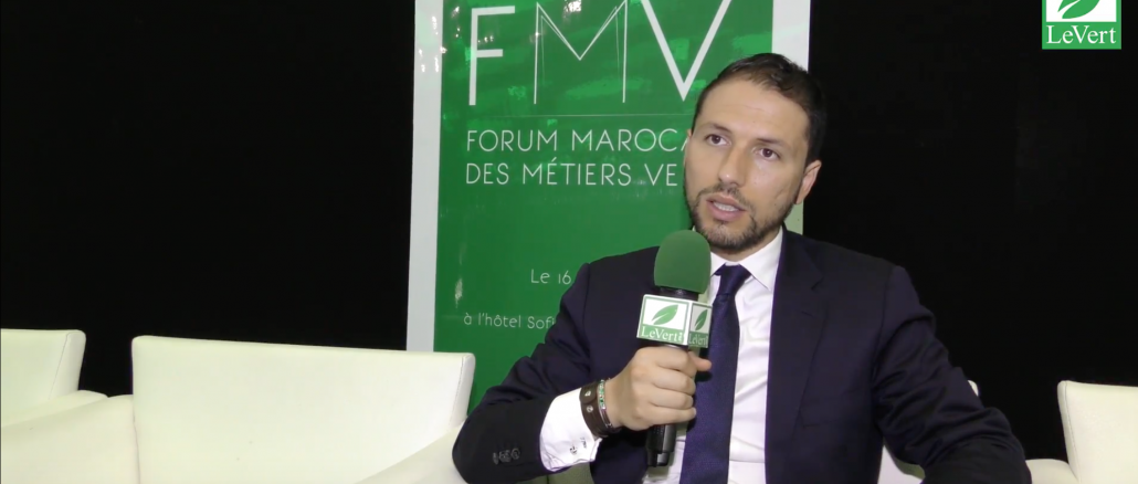 Mohammed Lamghari, directeur du forum des métiers verts (FMV) et directeur de la publication de la revue Énergies et environnement