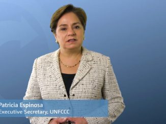Mme Patricia Espinosa, Secrétaire exécutive de la Convention-Cadre des Nations Unies sur les Changements Climatiques (CCNUCC)