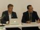le Directeur du pôle Efficacité Energétique de l'AMEE, Monsieur Mohamed ELHAOUARI, et le Professeur Daniel Kammen de l'Université de Californie (RAEL) à Berkeley aux Etats-Unis