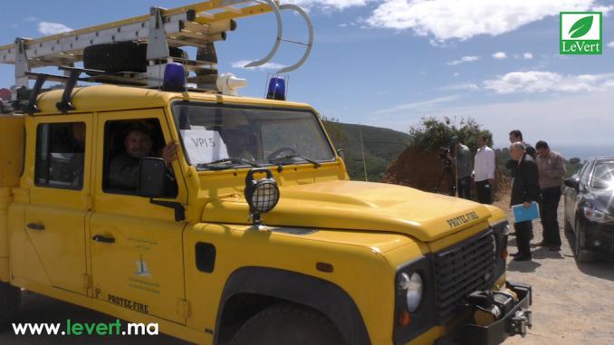 Simulation du système de commandements des incendies à Tétouan