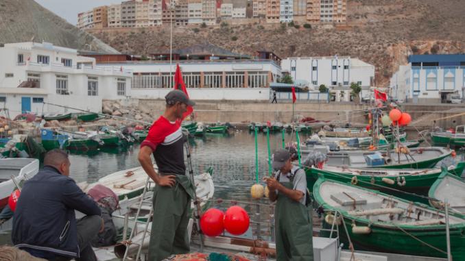 Des pêcheurs d'Al Hoceima
