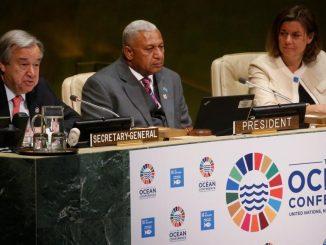 la conférence sur les océans de l'ONU