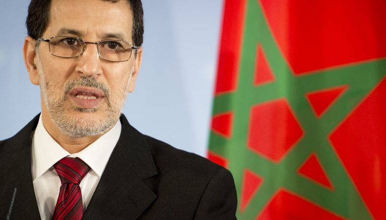 Le Chef du gouvernement Saad Eddine El Othmani