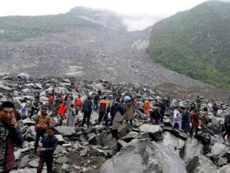 Un énorme glissement de terrain a fait 141 disparus ce samedi matin en Chine