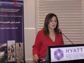 """Dr. Houria Tazi Sadeq, Juriste et Experte Eau et Développement Durable, présidente de la Coalition marocaine de l'eau """"COALMA""""."""