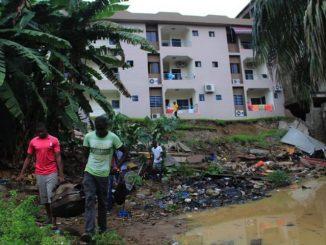 Pluies diluviennes en Côte d'Ivoire
