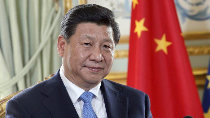 Le président Chinois M. Xi Jinping
