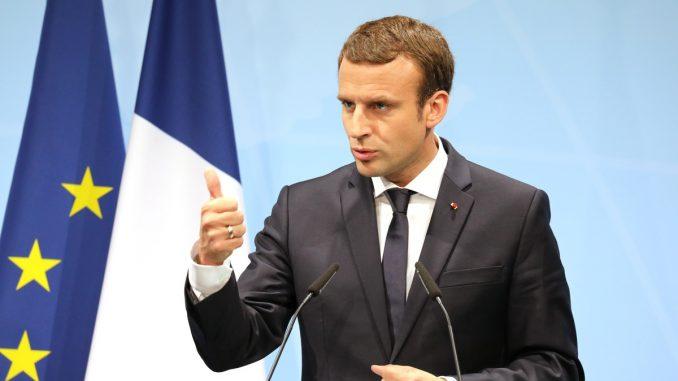 Emmanuel Macron président de la République française