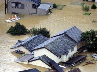 Inondations au Japon