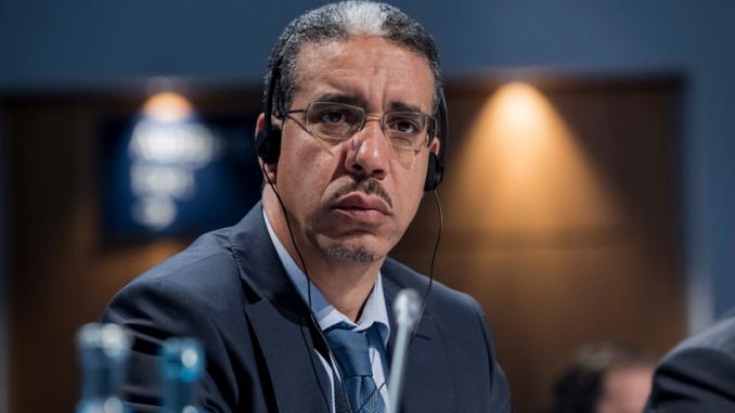 ziz Rebbah, Le ministre de l'Énergie, des Mines et du Développement durable