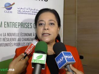 La présidente de la CGEM, Miriem Bensalah-Chaqroun