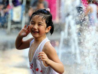 Vague de chaleur en Chine