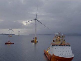 La première ferme d'éoliennes flottantes verra le jour en Écosse