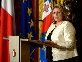 Marie Louise Coleiro Preca, Présidente de Malte