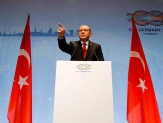 M. Recep Tayyip Erdogan, président de la Turquie lors du G20