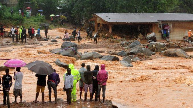 312 personnes tuées dans des inondations, les circonstances — Sierra Leone