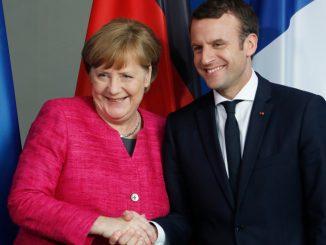 Le duo Merkel-Macron surnommé M&M par la presse allemande