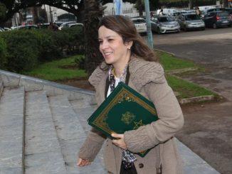 La secrétaire d'Etat chargée de l'Eau, Charafat Afilal