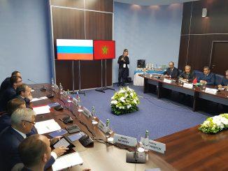 Aziz Akhannouch rencontre le Vice-Premier ministre russe à Saint-Pétersbourg