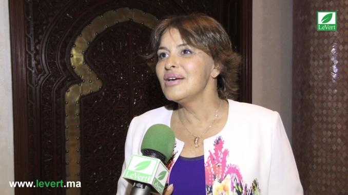 Mme Hakima Elhaité lors du Climate Chance 2017 à Agadir