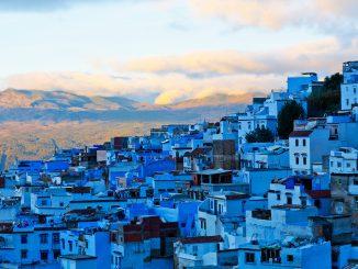 La ville de Chefchaouen