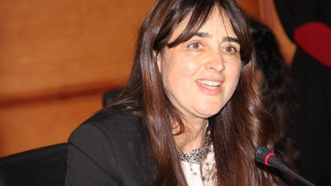 La secrétaire d'État chargée du Tourisme, Lamia Boutaleb