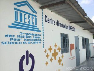 Unesco : La Côte d'Ivoire abrite le premier centre d'incubation au monde