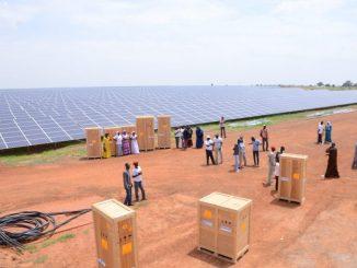 Centrale solaire -Sénégal