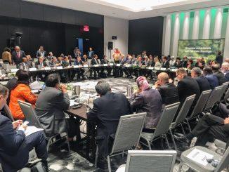 la réunion ministérielle sur l'action climatique