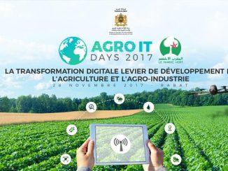 Lancement des « Agro IT days », le 28 novembre à Rabat