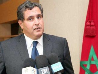 Aziz Akhannouch, ministre de l'Agriculture, de la Pêche , Développement rural, Eau et forêts.