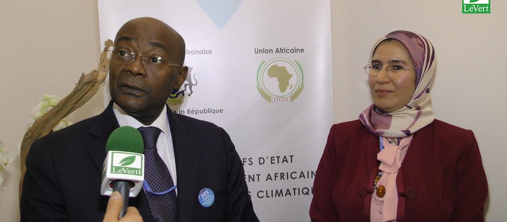 Réunion Bilatérale de Mme EL OUAFI avec le Ministre du Gabon