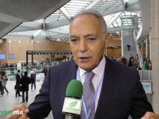 Le président de la COP22, Salaheddine Mezouar