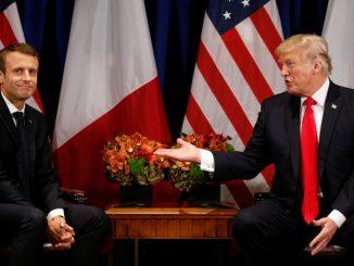 Emmanuel Macron & Donald Trump