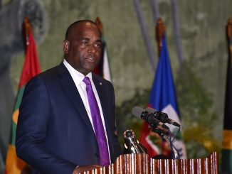 Le Premier ministre de la Dominique, Roosevelt Skerrit