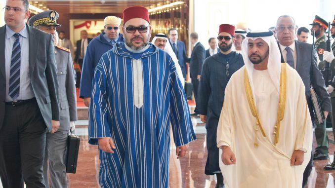 Arrivée de Sa Majesté le Roi Mohammed VI à Abou Dhabi pour une visite d'amitié et de travail aux Émirats arabes unis