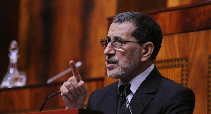 Saâd Eddine El Otmani le Chef du gouvernement.