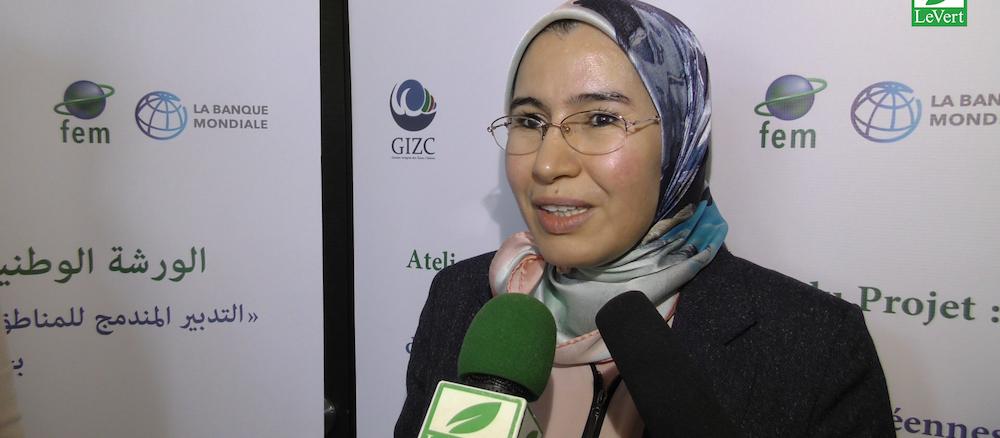 Nezha ELOUAFI, Secrétaire d'Etat chargée du Développement Durable