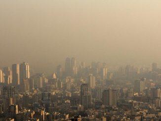 Pic de pollution en Iran